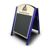 Premier Chalk A-Board (steel frame)