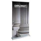 Diplomat Duo Duo; The Premium Double Sided Roll up Banner