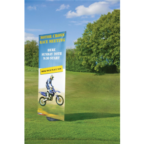 Blizzard; Outdoor Display Banner