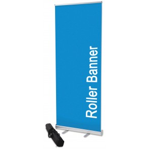 2.5m hight roller banners, roll up banner, eco budget banner, cheap roller banner
